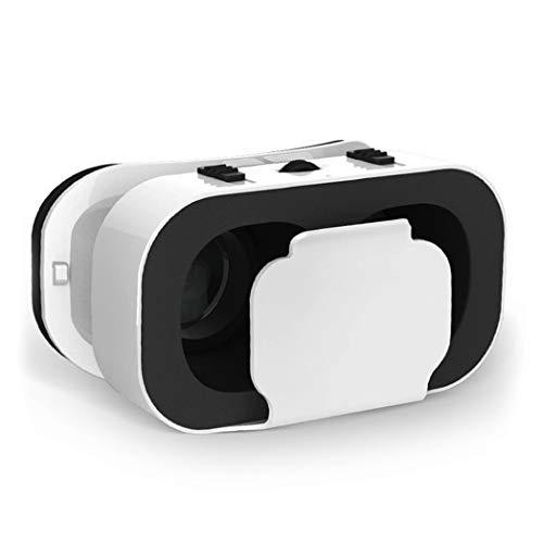 JYMYGS VR Brille, HD 3D Virtual Reality Brille, für 3D Film und Spiele, Geeignet 4,0-6,0 Zoll Smartphone Handy für iPhone SE 6/6s/7/8/X/XS, Samsung Galaxy S6/S7/S8/S9, Huawei p10/p20. N035JL