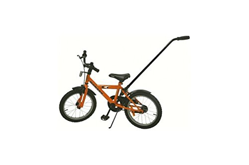 ATRAN VELO Halte-/Schiebestange für Dreiräder oder Kinderräder, auch als Radfahrlernhilfe geeignet, sehr leicht zu montieren, abnehmbar