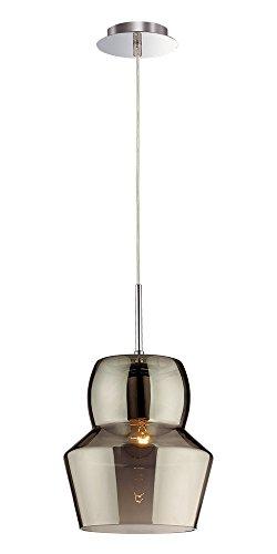 Ideal Lux Zeno SP1 Big Grigio Lampada a Sospensione E27