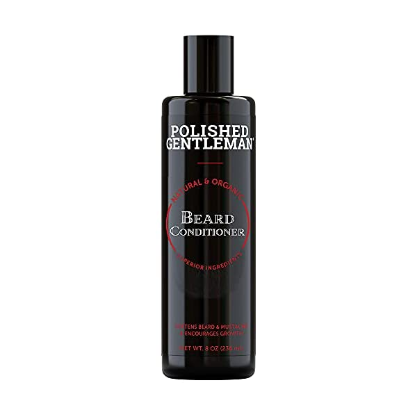 Beard Conditioner For Men With Beard Softener - Beard Thickener with Tea Tree and Beard Growth Oil - Beard Grooming and… 1
