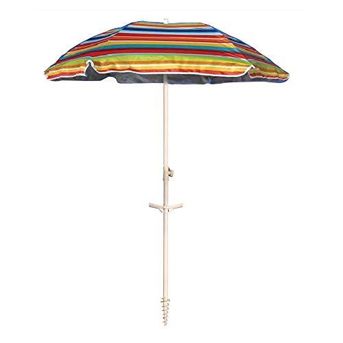 Ombrellone da spiaggia in policotone diam. 200cm,...