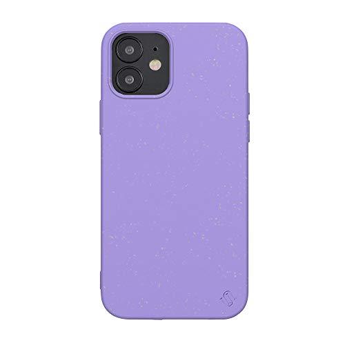 Uunique Schutzhülle für iPhone 12 Mini, umweltfre&lich, Violett