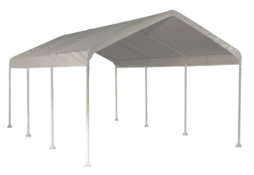 ShelterLogic 10' x 20' SuperMax Heavy Duty Steel Frame Quick and Easy Set-Up Canopy