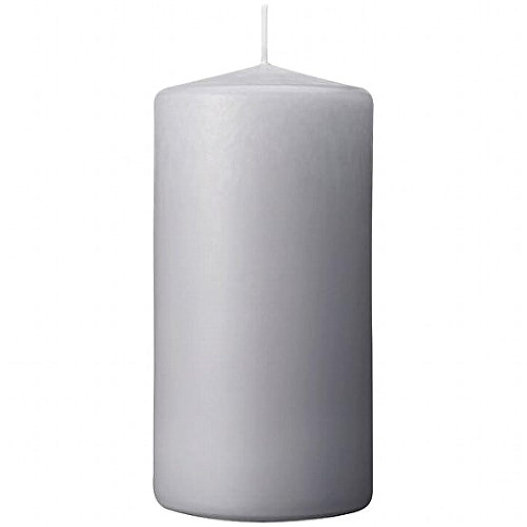 何資格友情カメヤマキャンドル(kameyama candle) 3×6ベルトップピラーキャンドル 「 ライトグレー 」