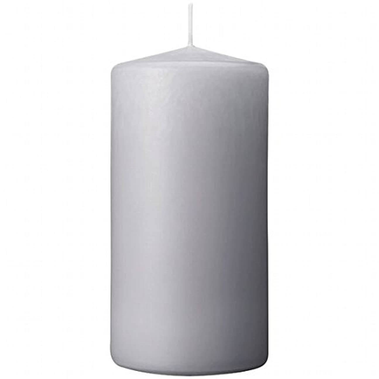 拾うレシピ厳しいカメヤマキャンドル(kameyama candle) 3×6ベルトップピラーキャンドル 「 ライトグレー 」