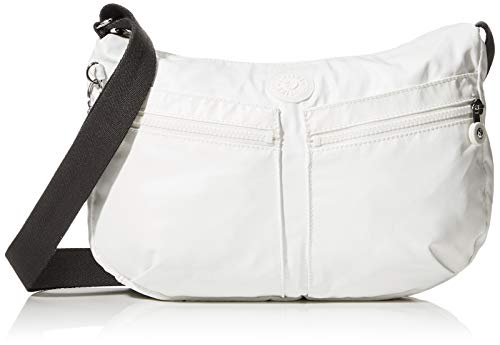Kipling Izellah Women's Cross-Body Bag, White (White Metallic),...