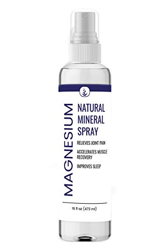 Pure Magnesium Oil Spray (16 oz.), Highest Quality, Food & Top Pharmaceutical Grade, Boost Magnesium Levels, Muscle Relief
