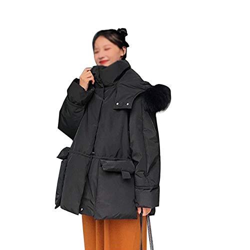 DRT mantel zachte dikke korte warmwaterkruik voor vrouwen met synthetisch bont