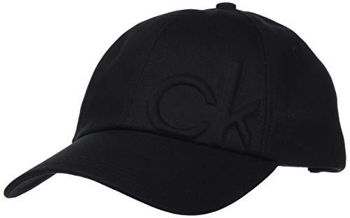 Calvin Klein Jeans BB Cap Em Gorra de bisbol, Negro, One Size para Mujer