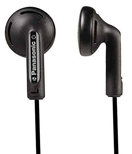 Panasonic RP-HV 094 E-K In-Ear-Kopfhörer (1,2 m Kabellänge, 3,5 mm Klinkenstecker) schwarz