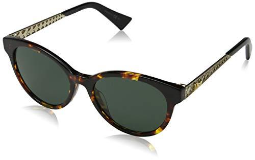 Dior Damen DIORAMA7 QT 2IK 52 Sonnenbrille, Gold (Havana Gold/Green)
