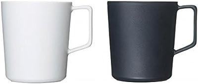 有田焼 匠の蔵 マグカップ 1.WHITE2.BLACKセット