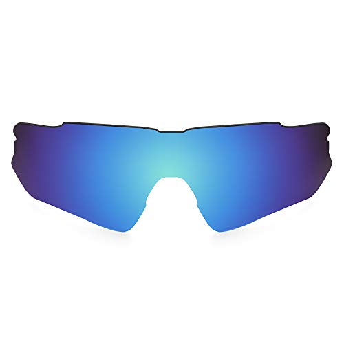 Revant Replacement Lenses Compatible With Oakley Radar EV Path (Asian Fit), Polarized, Ice Blue MirrorShield
