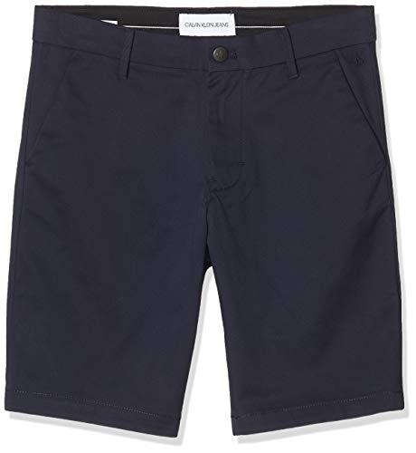 pequeño y compacto Calvin Klein Slim 026 Chino Short, Azul (Night Sky CHW), W29 (Talla del fabricante: NI29)…
