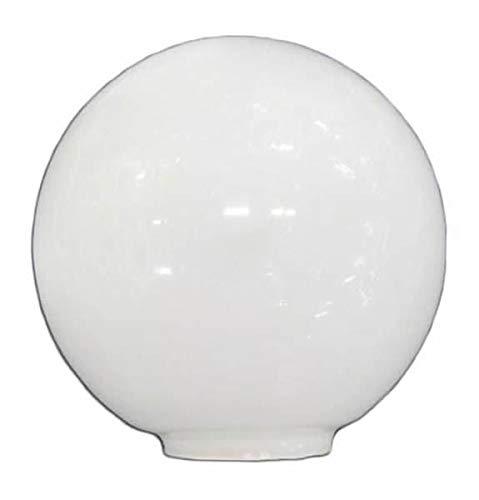 Ersatz-Lampenschirm Opal Glas 14 cm Öffnung 5 cm
