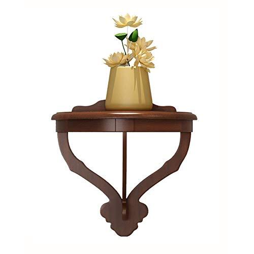 zyl Estante Flotante Estante Colgante Decorativo para imágenes o Plantas Estantes de exhibición Retro de Madera Estante de Pared para decoración del hogar para Sala de Estar Oficina dormitor