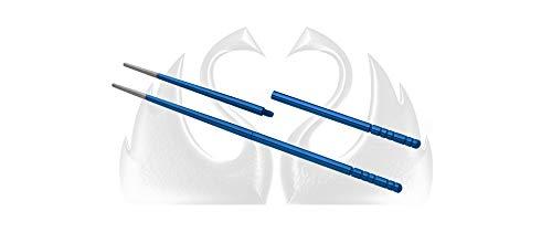 Due Cigni 2C 1200 BL Udon Baquetas Sushi de titanio anodizad