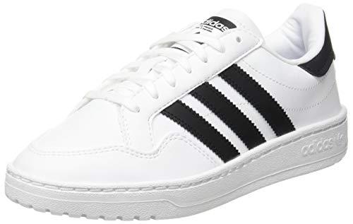 adidas Novice J, Scarpe da Ginnastica, Ftwr White/Core Black/Ftwr White, 37 1/3 EU