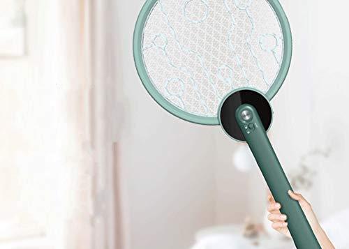 zhujiaN Die Wiederaufladbare Elektrische Fliegenklatsche USB Von Mosquito Killer, Die FüR Das Dreilagige Sicherheitsnetz Im Freien Im Haushalt Geeignet Ist, Kann Sicher BerüHrt Werden