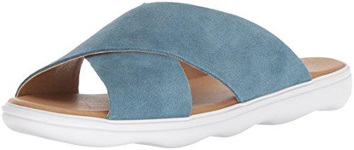 Lucky Brand Mahlay Sandalias para mujer, Azul (Mezclilla descolorida), 36.5 EU
