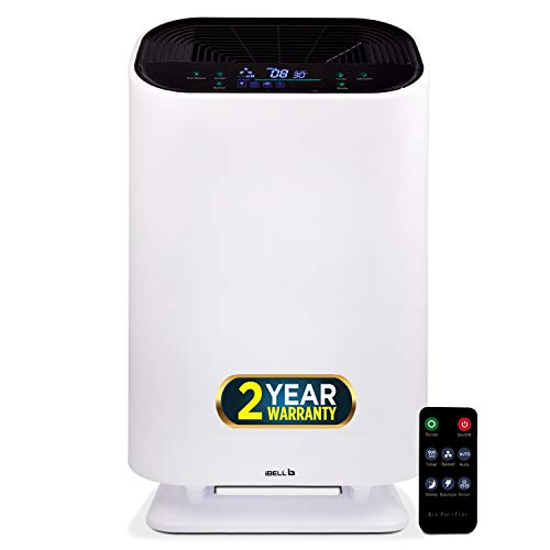 iBELL AP300Y Air Purifier with True HEPA Filter, 40 W, 4 Stage Filtration