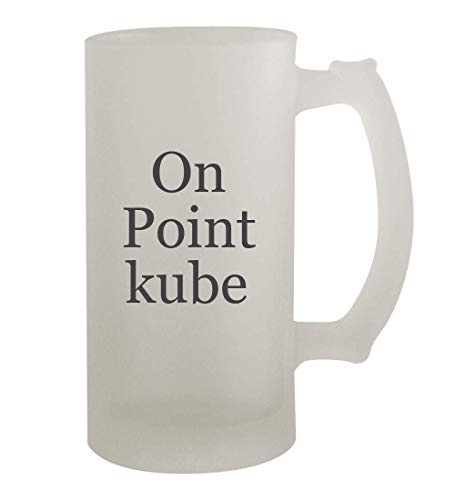 On Point kube - 16oz Frosted Beer Mug Stein, Frosted