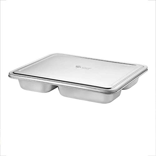 Daliuing Food Storage Containers Stainless steel lunch box Meal Prep Containers For Kids & Adults