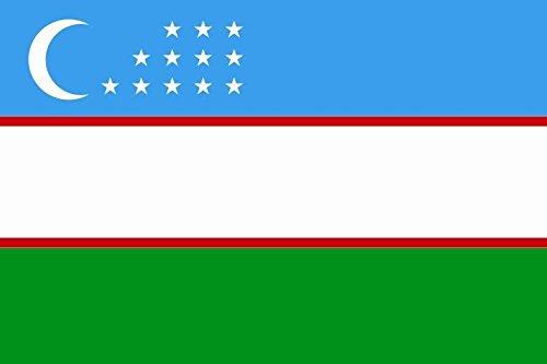 U24 Flagge Fahne Usbekistan 90 x 150 cm