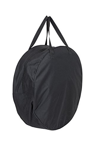 Bo-Camp Urban Outdoor Belmont Feuerschale Bag-Padded, schwarz, 17,5 x 55 x 55 cm
