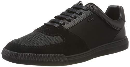 BOSS Herren Cosmo_Tenn_mx Sneaker, Schwarz (Black 005), 39 EU