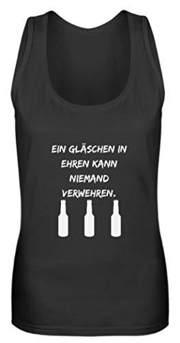SPIRITSHIRTSHOP Gott erfand de wijn, Gott begand het bier, maar de jenever branden we - vrouwen tanktop