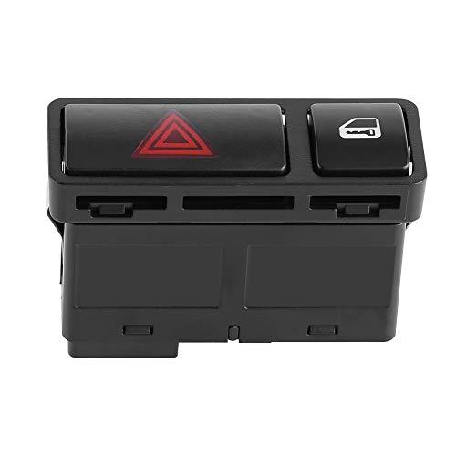 Interruptor de advertencia de peligro Interruptor de bloqueo central de puerta intermitente de emergencia apto para Serie 3 E46 E53 E85 325 X5 61318368920
