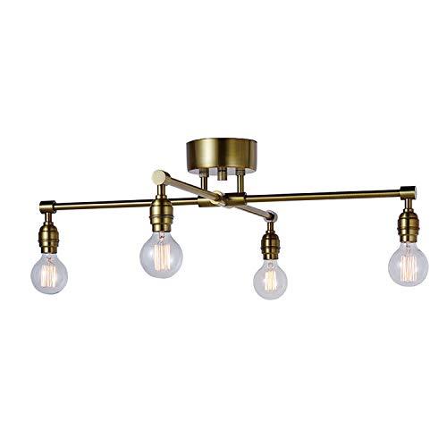 ART WORK STUDIO レイトンXシーリングランプ LaitonX-ceiling lamp(電球ナシ)ゴールド AW-0576Z