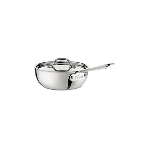 All-Clad Saucier Pan, 2-Quart,4212,White