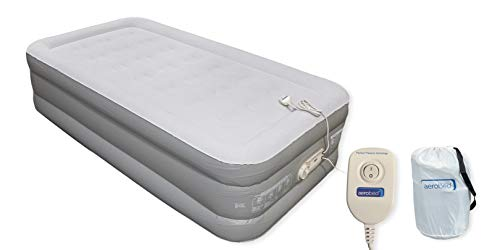 AeroBed Twin Double High (Inflated 74 x 39 x 17 inches) 17 Inches High Perfect Pressure Luxury Air Mattress