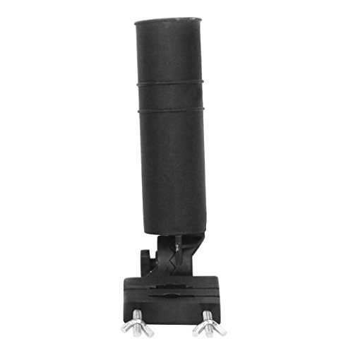 F Fityle Soporte Universal De La Cabeza Giratoria del Tenedor del Paraguas del Golf para El Carro O La Pesca De Golf