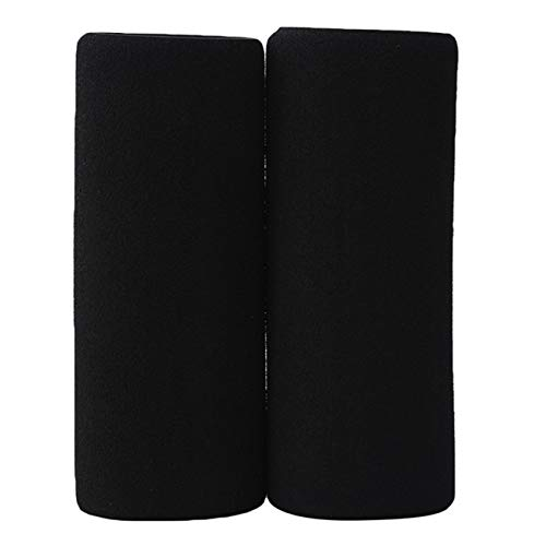ZALING Motorbike Handlebar Grip Cover Motorcycle Slip-on Foam Anti Vibration Comfort Hand Grip