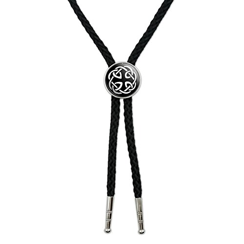 Graphics and More Celtic Knot Western Southwest Cowboy Necktie Bow Bolo Tie