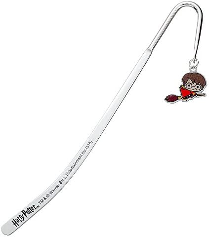 Harry Potter Official Licensed Silver Plated Bookmark Chibi product image