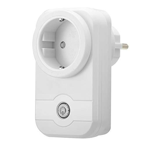 Frieed Inicio Voguish Socket WiFi Enchufe EU/App Tuner Control para iOS Pad Android Homekit Durable (Color : EU Plug)