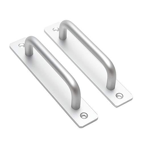 Door Pull Handle, 2PCS Aluminium Alloy Safety Grab Bar Handles Sliding Barn Door Cabinet Handle...