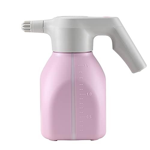 PWQ Botella Pulverizadora Eléctrica de 1,5 L para Plantas, Regadera, con Boquilla de Cobre Ajustable, para Limpieza Diaria de Plantas de Jardín y Flores de Interior y Exterior