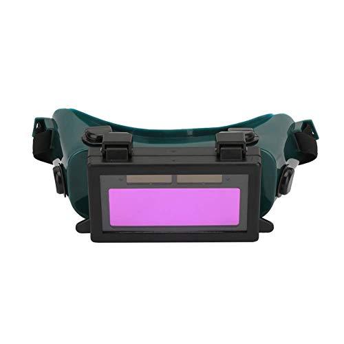 Walfront Gafas de Soldadura Gafas de soldar Protectoras de Seguridad Gafas de Ojos Máscara Casco(Verde Oscuro)