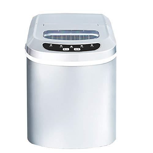 MEETGG Máquina de hacer hielo Encimera Inicio,Ice Cube Maker Silent Easy Operation,para Cocina Hogar