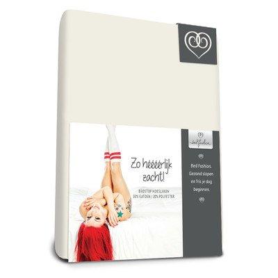 Bed-Fashion Lenzuolo Con Angoli Elasticizzati, In Spugna, Bianco, Matrimoniale, 160X 210Cm