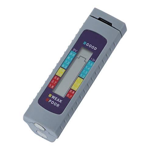 Best Deals! ULTECHNOVO Battery Tester Digital Capacity Tester Checker Measuring Tool for Lithium Bat...