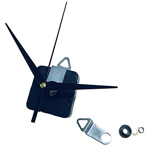 100sets Professional Quartz Wall Clock Movement Mechanism 28mm Shaft DIY Repair Tool Parts Kit with Hands & Hooks