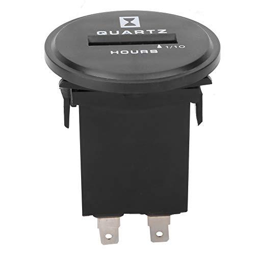 Medidor de generador de vehículos de ingeniería, contador de horas sellado impermeable a prueba de polvo para generador de vehículos de ingeniería 0~99999,9 horas