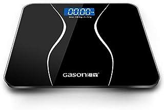 Báscula Grasa Báscula De Baño De Precisión Cuerpo Smart Electronic Electronic Weight Home Floor Balance Pantalla De Cristal Templado Lcd 180 Kg / 50 Kg