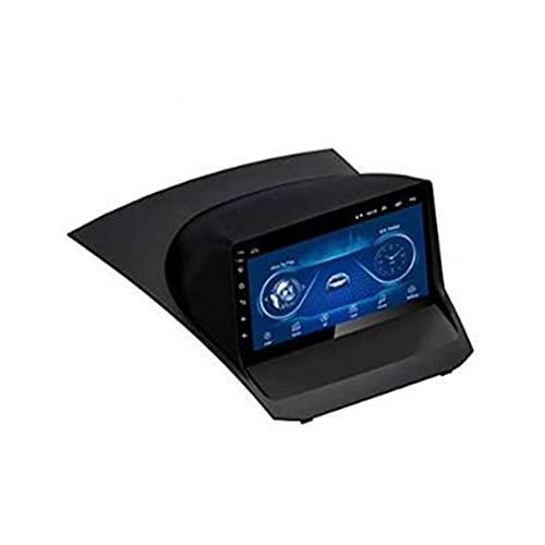 HP CAMP Android 10.0 autoradio Navigazione per Ford Fiesta 2009-2017, Auto headunit Stereo con Microfono/BT 5.0 / Telecamera per retromarcia/SWC/Vivavoce/FM/AM/RDS,WiFi 2G+32G